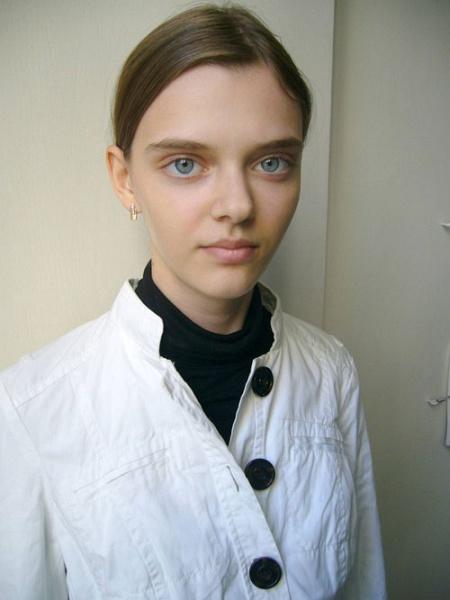 Большие глаза девушек фото